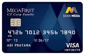Keuntungan Kartu Kredit Bank Mega