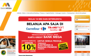 Limit Kartu Kredit Bank Mega Carrefour