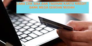Cara Cek Sisa Limit Dan Tagihan Kartu Kredit Bank Mega Lewat SMS