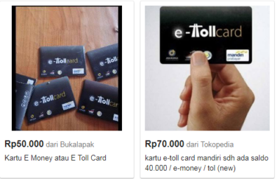 E Toll Card Beli Dimana, Ini Kisaran Harga Dan Lokasinya